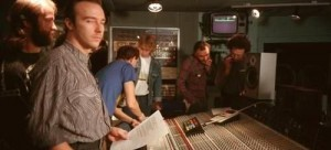 Midge Ure at the Band Aid recording session (photo: Steve Hurrell/Redferns)