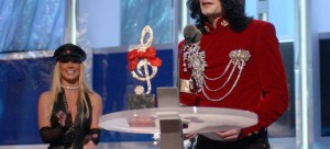 "Michael Jackson Wins Non-Existent ""Artist of the Millennium"" Award (2002) - The King of Pop was once of the king of MTV. So it's understandable that when Michael appeared on the VMAs — with Britney Spears presenting him with his 44th birthday cake and saying he was the ""artist of the millennium"" in her eyes — he thought he was getting a well-deserved lifetime achievement. The truly embarrassing part was that he mistook a cheap Styrofoam cake decoration for a trophy, then delivered an emotional acceptance speech that name-checked David Blaine. Oh well. After his death, MTV's Video Vanguard Award was renamed after Michael."