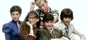 SQUARE PEGS, Tracy Nelson, Sarah Jessica Parker, Merritt Butrick, Amy Linker, John Femia, 1982-83, p